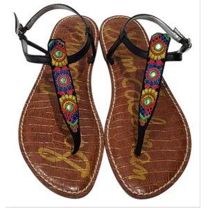 Sam Edelman Gigi Bombay Thong Sandals Womens Sz 9